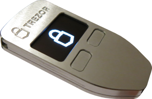 Dompet Cryptocurrency Trezor