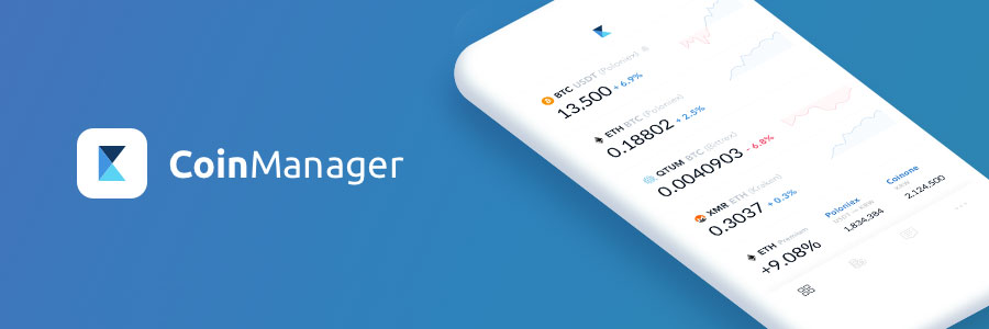 Crypto tracker di Coinmanager